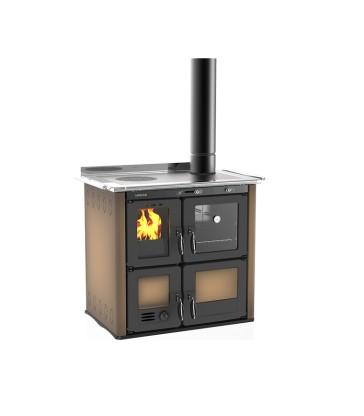 LINCAR ILARIA 703 T - I - Litinový kuchyňský sporák s teplovodním výměníkem